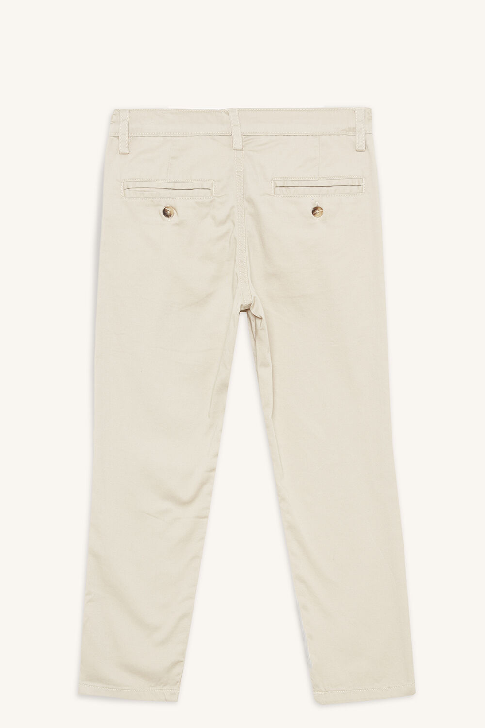 junior boy JACK CHINO PANT in colour SANDSHELL