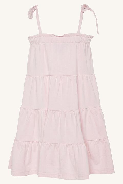 FIORELLA TIER DRESS in colour PRIMROSE PINK