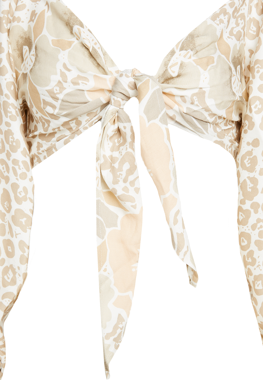 BABYLON TIE TOP in colour VANILLA CUSTARD