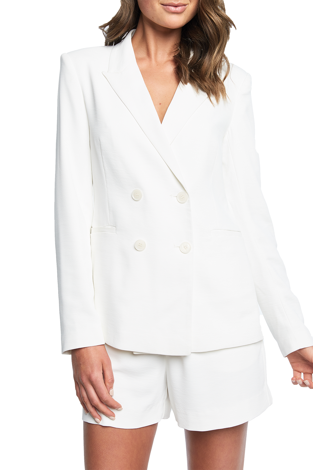 VENICE BLAZER in colour CLOUD DANCER