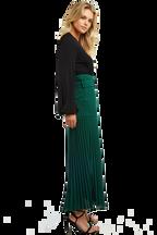 DRAPEY KNIT BODYSUIT in colour CAVIAR