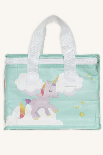 KIDS LUNCH TOTE UNICORN in colour BRIGHT WHITE