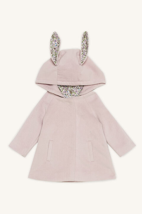 IRIS BUNNY COAT in colour GRAY LILAC