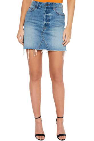 MONICA DENIM SKIRT in colour CITADEL