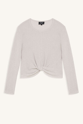 IN A TWIST SWEATER in colour PEACH BLUSH
