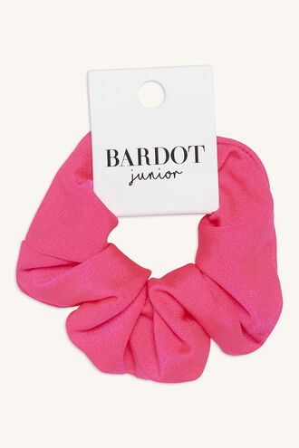 NEON SCRUNCHIE in colour PINK CARNATION