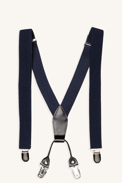 ALL NAVY BRACES in colour NAVY BLAZER