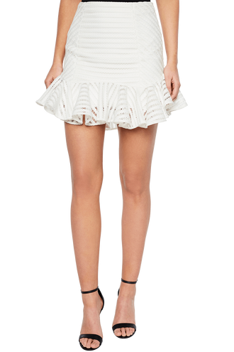 PIPER SKIRT in colour CLOUD DANCER