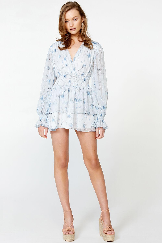 MALINA DRESS in colour BIT OF BLUE