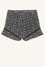 tween girl ari flutter short in colour CAVIAR