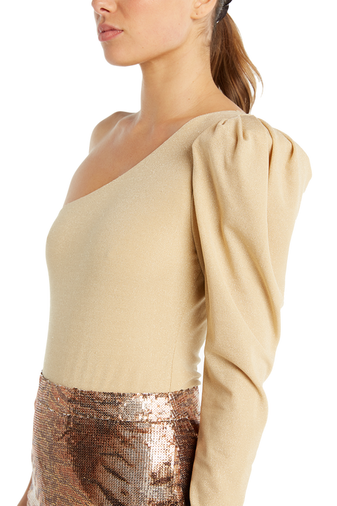 BELLA BODYSUIT in colour CHAMPAGNE BEIGE