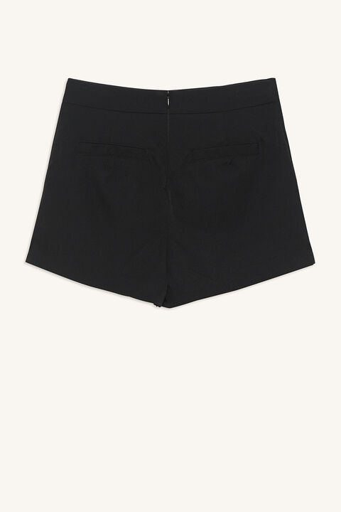 ROMIE SHORT in colour CAVIAR