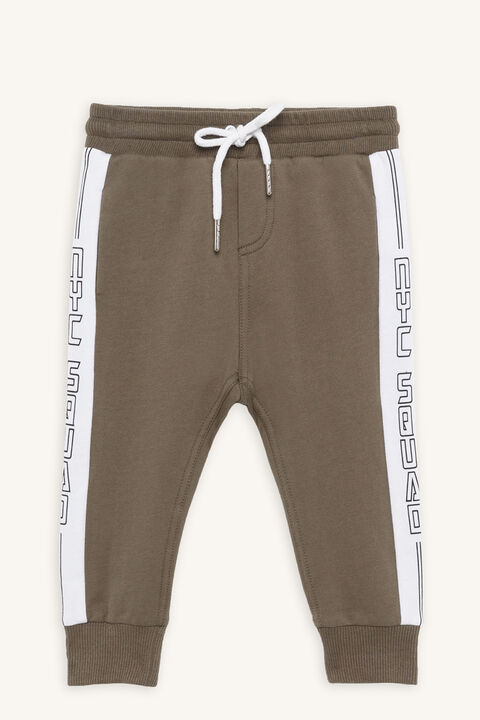 NYC SQUAD TRACK PANT in colour DEEP LICHEN GREEN