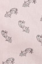 PAISLEY LINEN SHORT in colour PARFAIT PINK