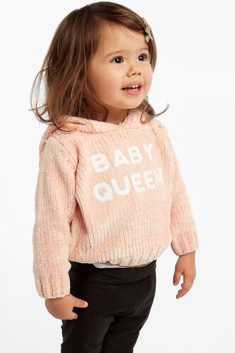 BABY QUEEN KNIT in colour BISQUE