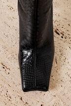 HENDRIX CROC BOOT in colour CAVIAR