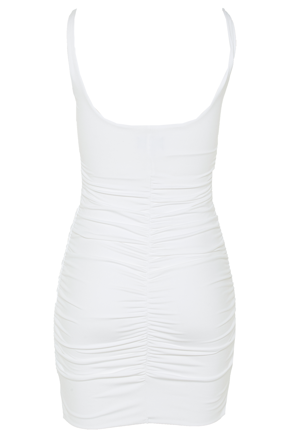 KARIN DRESS in colour BRIGHT WHITE