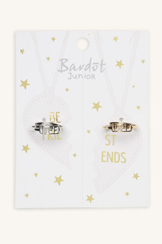 BFF RING SET in colour GOLD EARTH