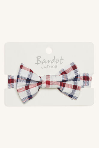 JOSEPH BOW TIE in colour RED BUD