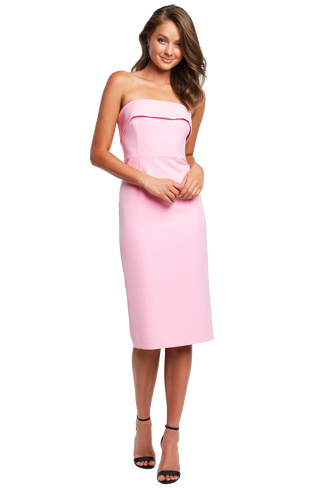 GEORGIA DRESS in colour PINK LADY