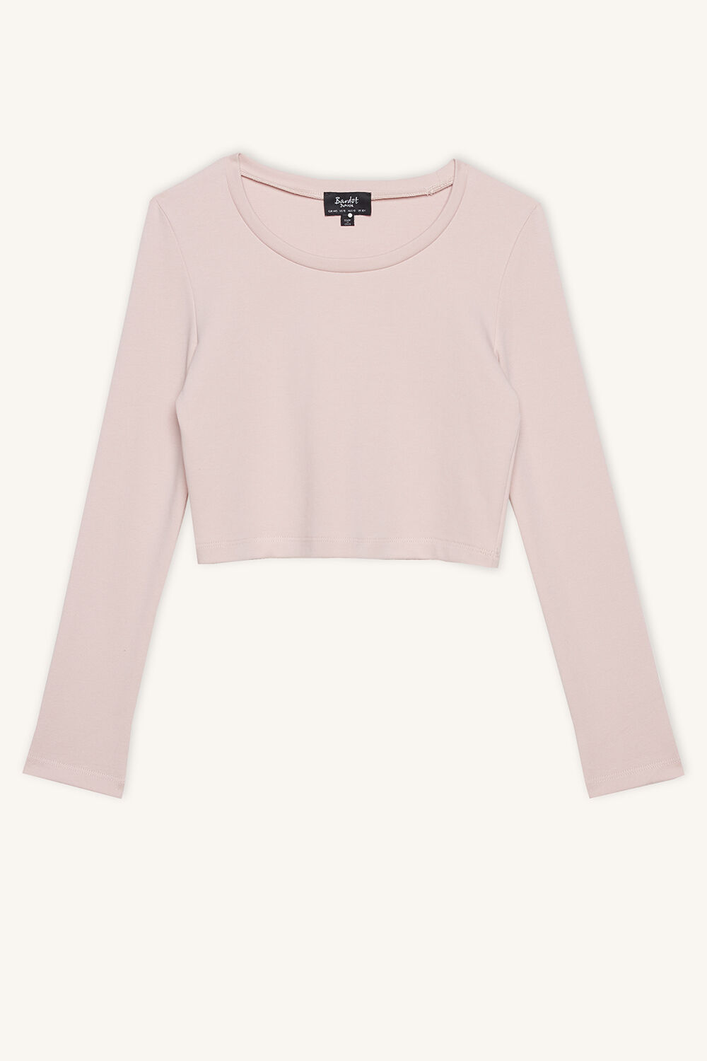 NINA SCOOP TOP in colour SILVER PEONY