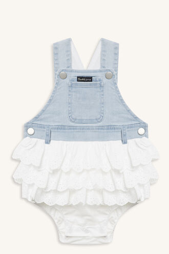 LACE OVERALL GROW in colour ASHLEY BLUE