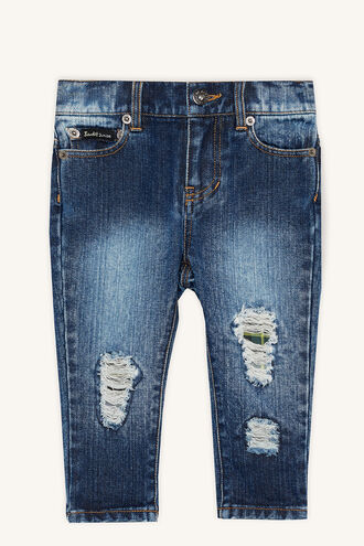 PATCH DENIM JEAN in colour CITADEL
