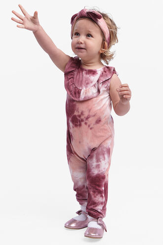 MAY TIE DYE ONSIE in colour MAUVEWOOD