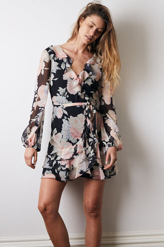 MAEVE MINI DRESS in colour TAP SHOE