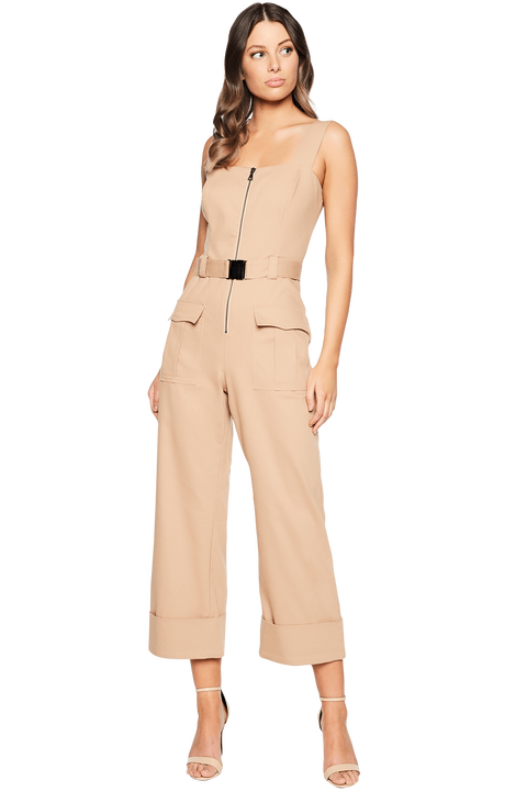 BUCKLE JUMPSUIT in colour CURDS & WHEY