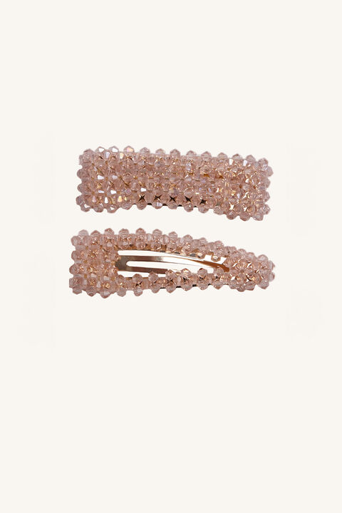 PINK BEAD CLIP in colour PARADISE PINK