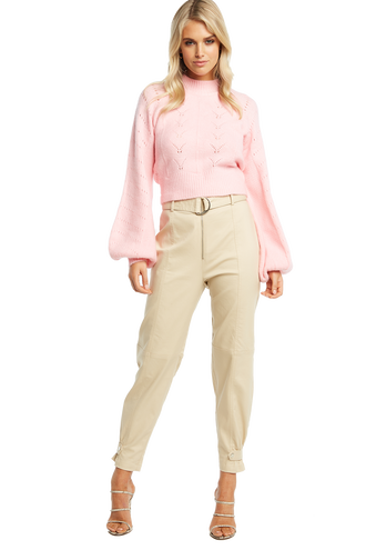 MAISEY KNIT in colour PINK LADY