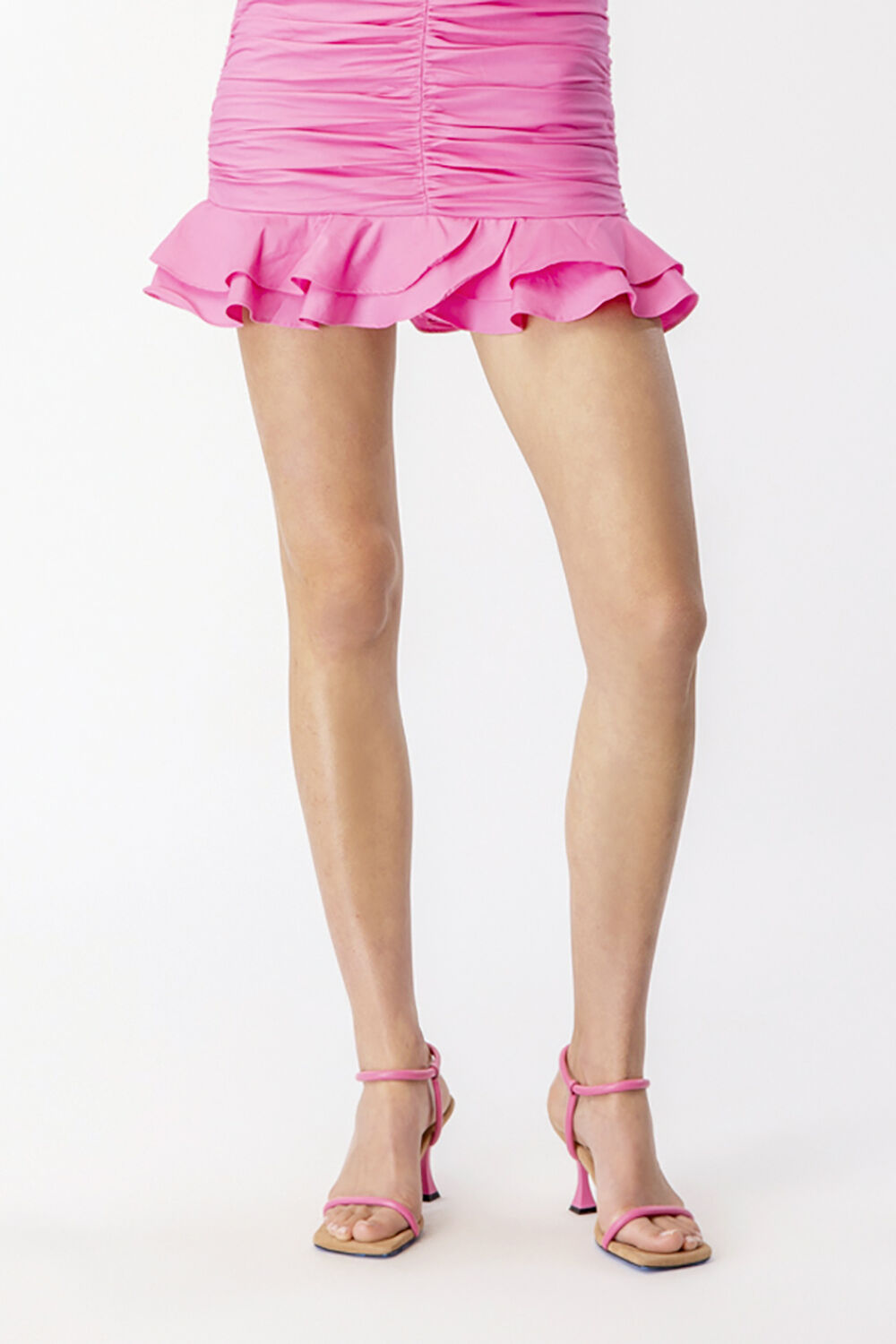 MILA STRAPPY HEEL in colour PARADISE PINK