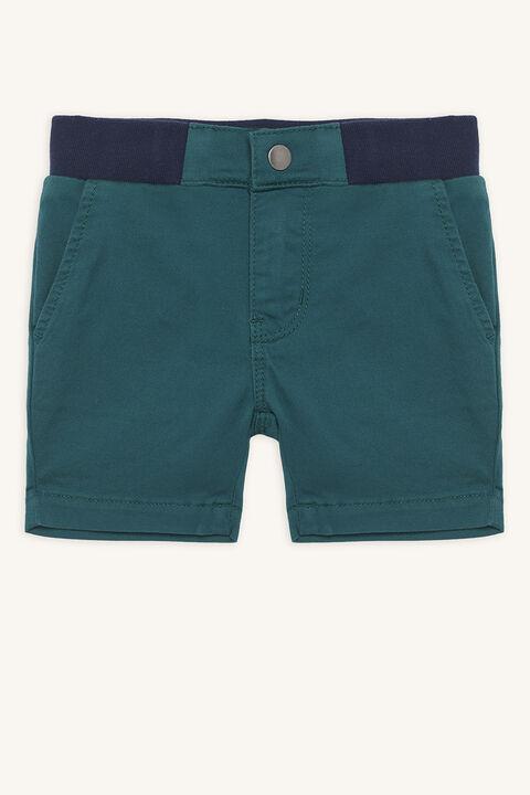 baby boy rib waist short in colour BOSPHORUS