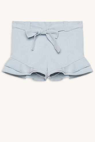 ANGIE FLUTTER SHORT in colour CASHMERE BLUE