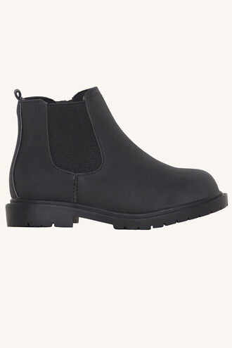 MORGAN TODDLER BLACK BOOT in colour METEORITE