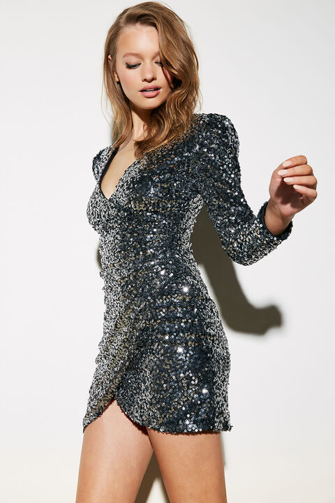 SEQUIN SPARKLE DRESS