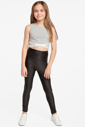 ROLLER LEGGING in colour JET BLACK