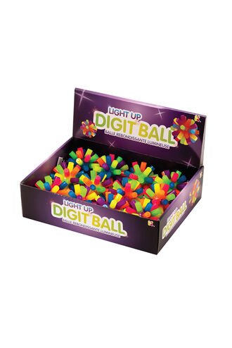 LIGHT UP DIGIT BAL in colour BRIGHT WHITE