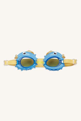 PUFFERFISH SWIM GOGGLES in colour BLUE BELL
