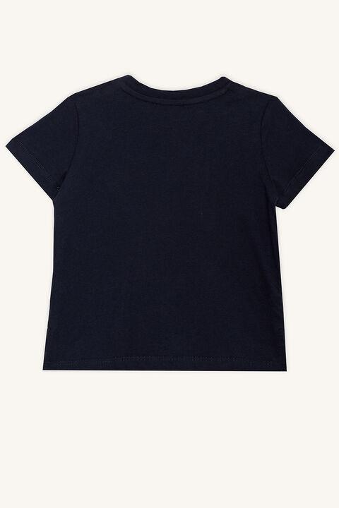 LEGEND TEE in colour BLACK IRIS