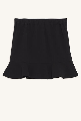 BIANCA FRILL MINI in colour JET BLACK