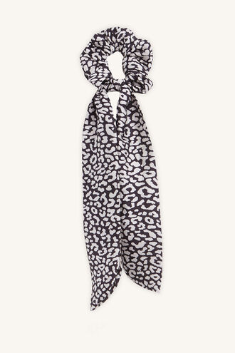 MAYAH SCRUNCHIE SCARF in colour ANTELOPE