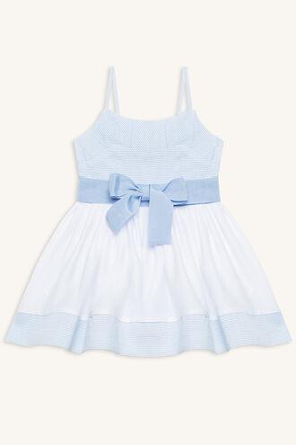 RIVIERA DRESS in colour CASHMERE BLUE