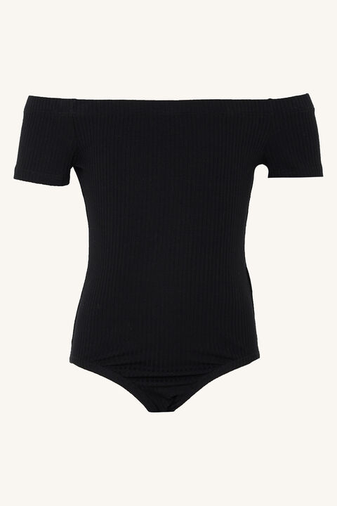 CIARA BODYSUIT in colour JET BLACK
