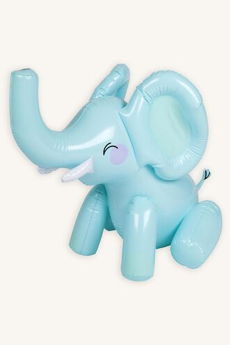 INFLATABLE SPRINKLER ELEPHANT in colour BLUE BELL