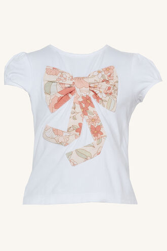 ROSIE BOW TOP in colour CLOUD DANCER