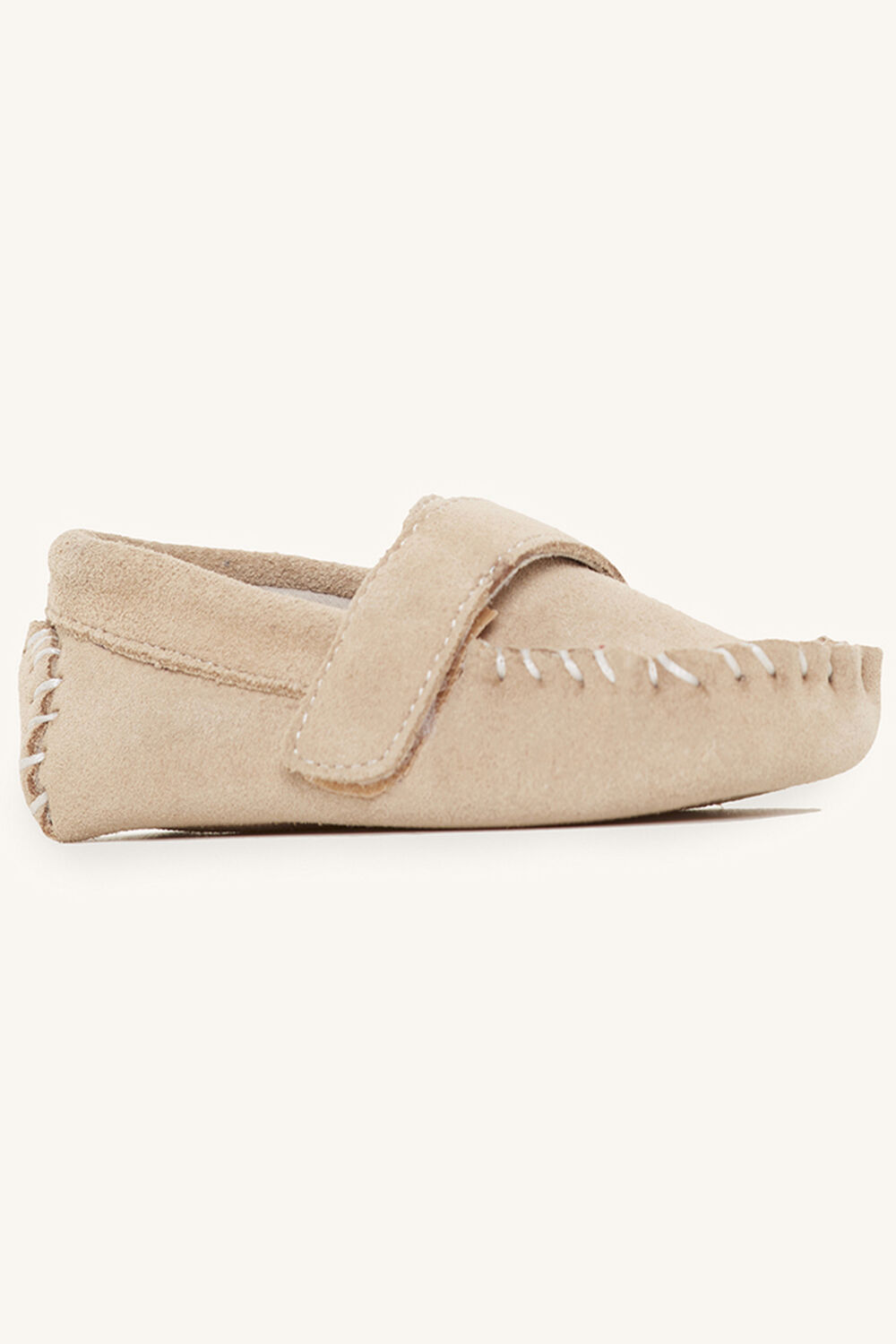 BENNY BABY LOAFER SHOE in colour SAND