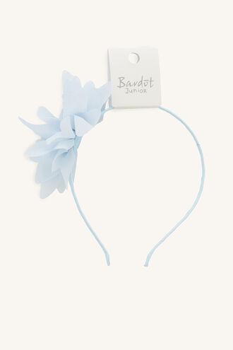 GARDEN FLOWER ALICE BAND in colour BLUE BELL