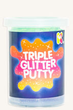 TRIPLE GLITTER PUTTY in colour BRIGHT WHITE
